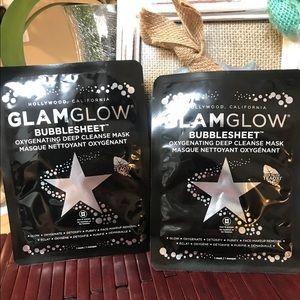 GlamGlow Bubble Sheet Mask x 2